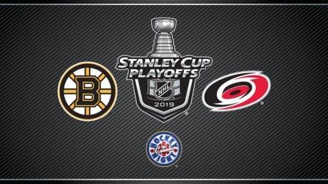 HNIC NHL Playoffs Boston Bruins at Carolina Hurricanes